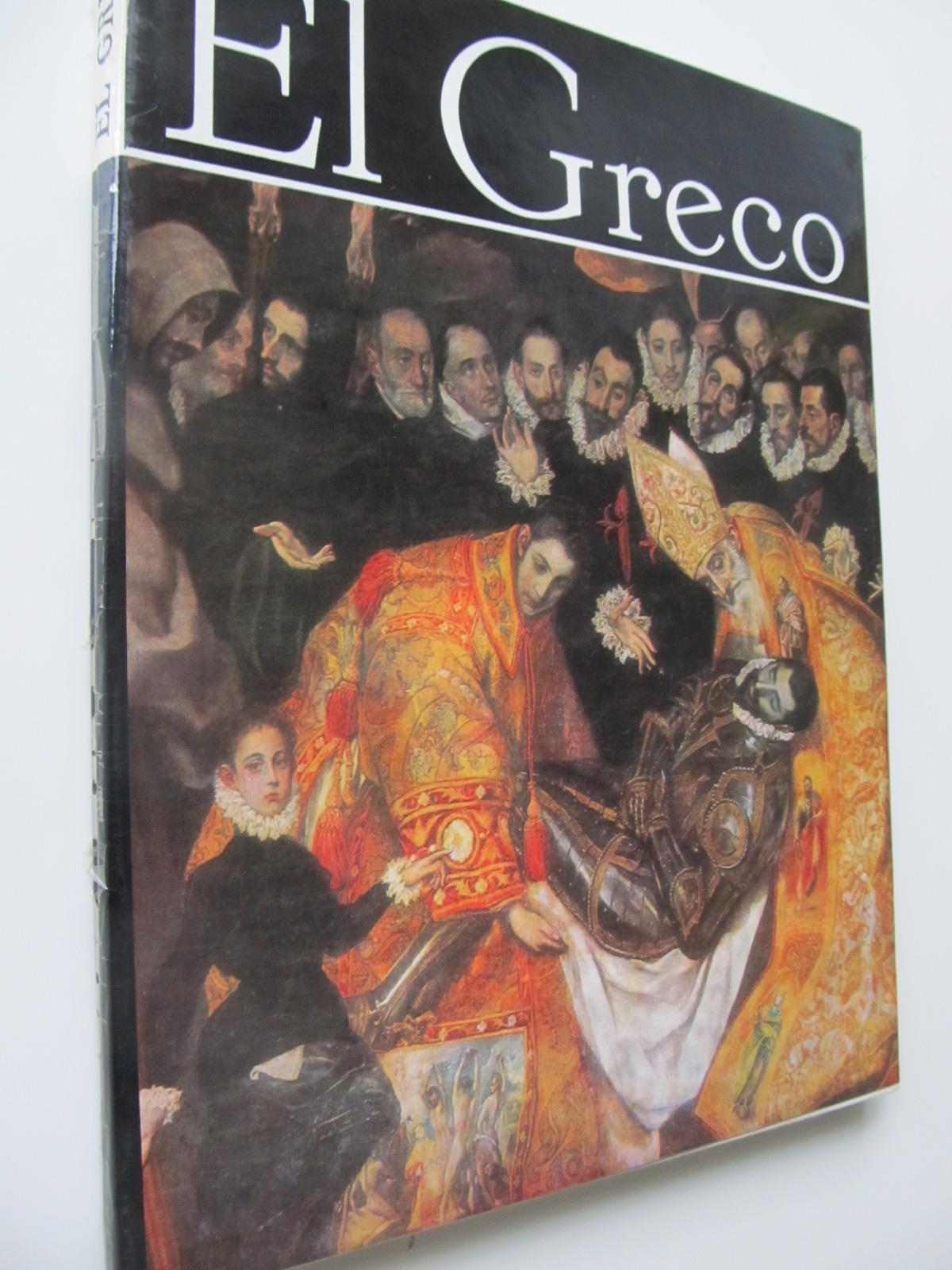 Carte El Greco (Album) - format foarte mare - Ioan Hotga , ..