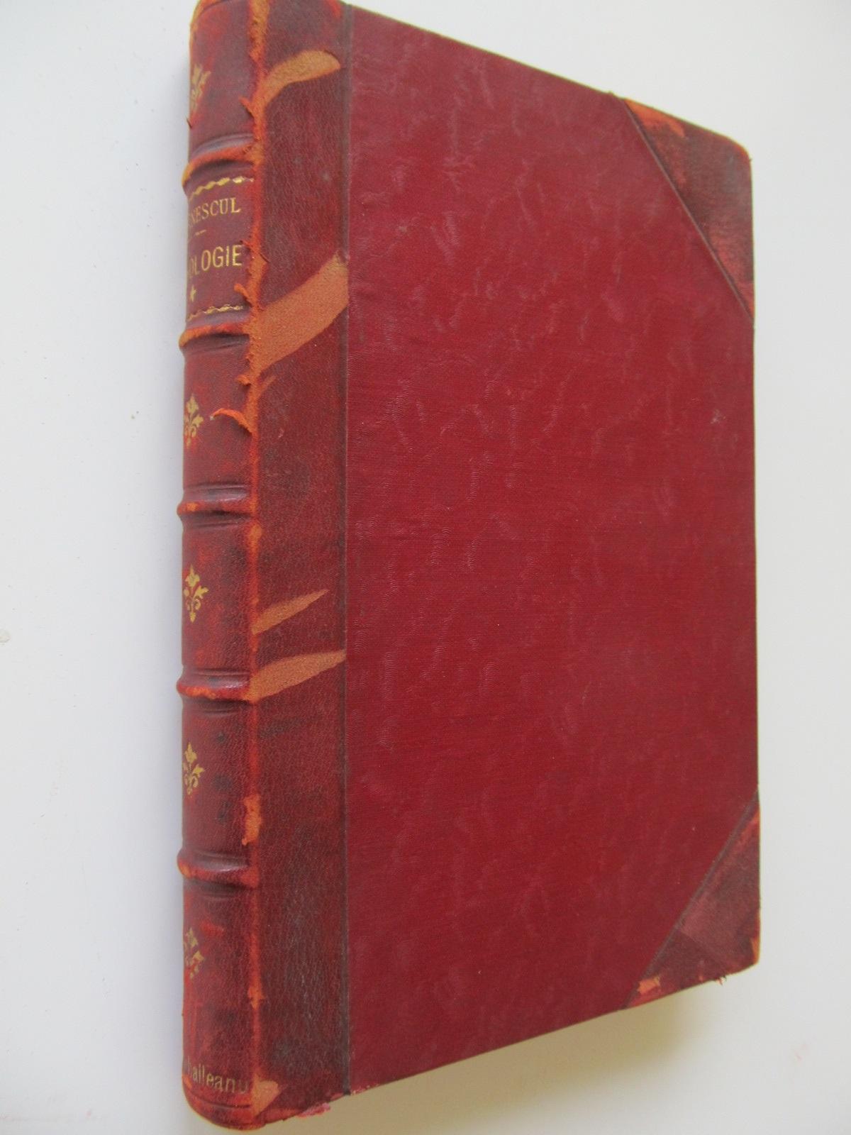 Elemente de psihologie , 1915 - I. Gavanescu | Detalii carte