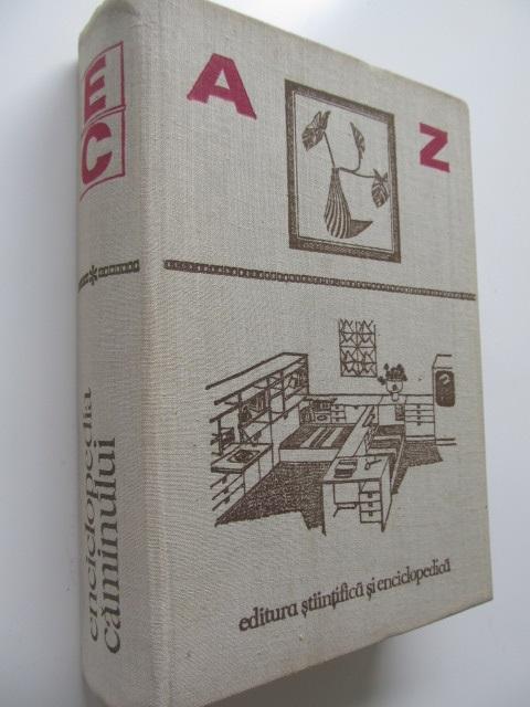 Enciclopedia caminului - Ecaterina Oproiu , Tatiana Corvin | Detalii carte