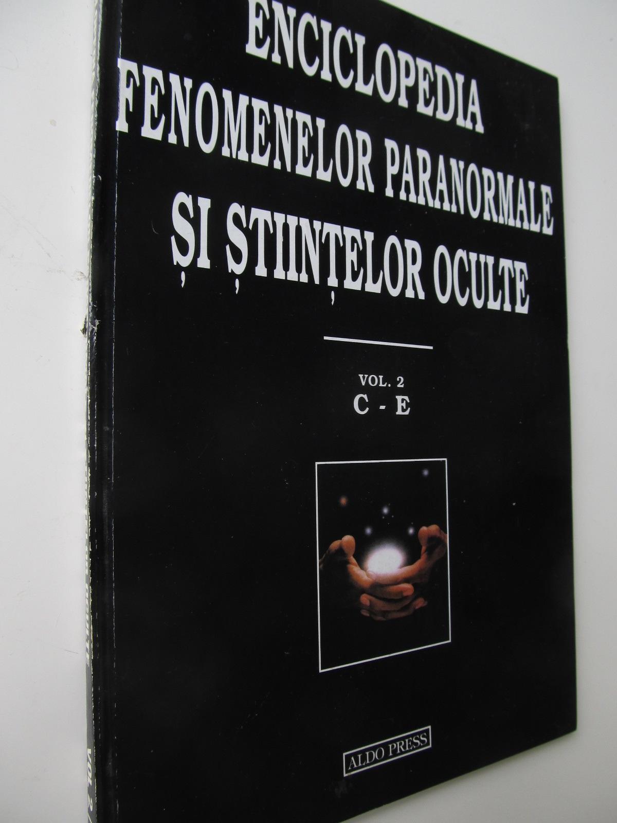 Enciclopedia fenomenelor paranormale si stiintelor oculte (vol. 2) C - E - Dan Seracu | Detalii carte