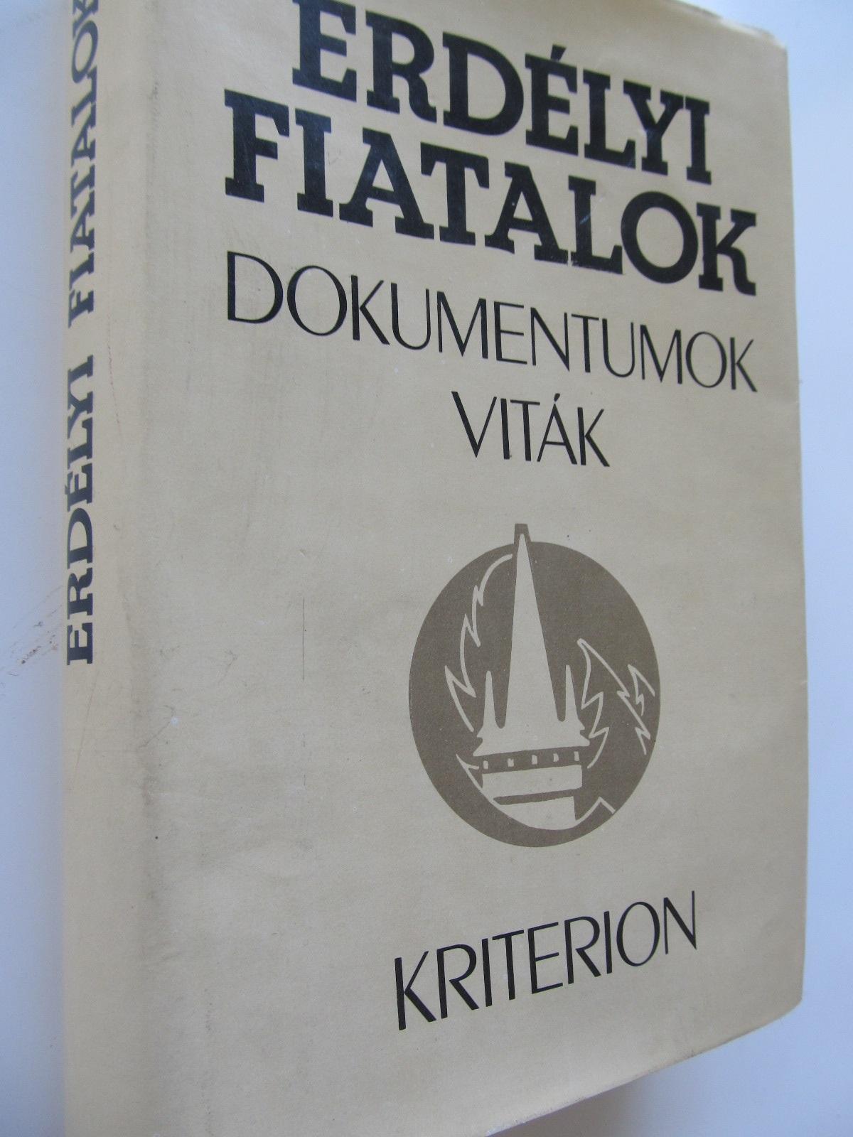 Erdelyi fiatalok dokumentumok vitak (193-1940) - *** | Detalii carte