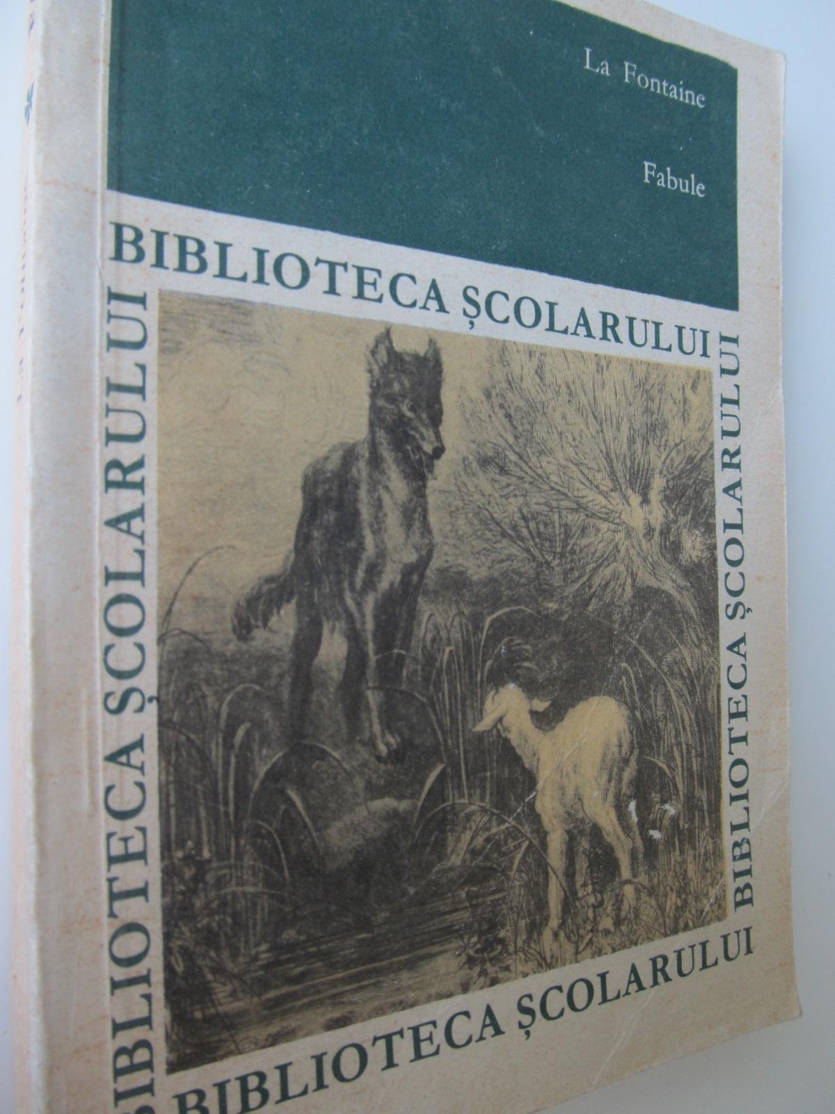Fabule - La Fontaine | Detalii carte