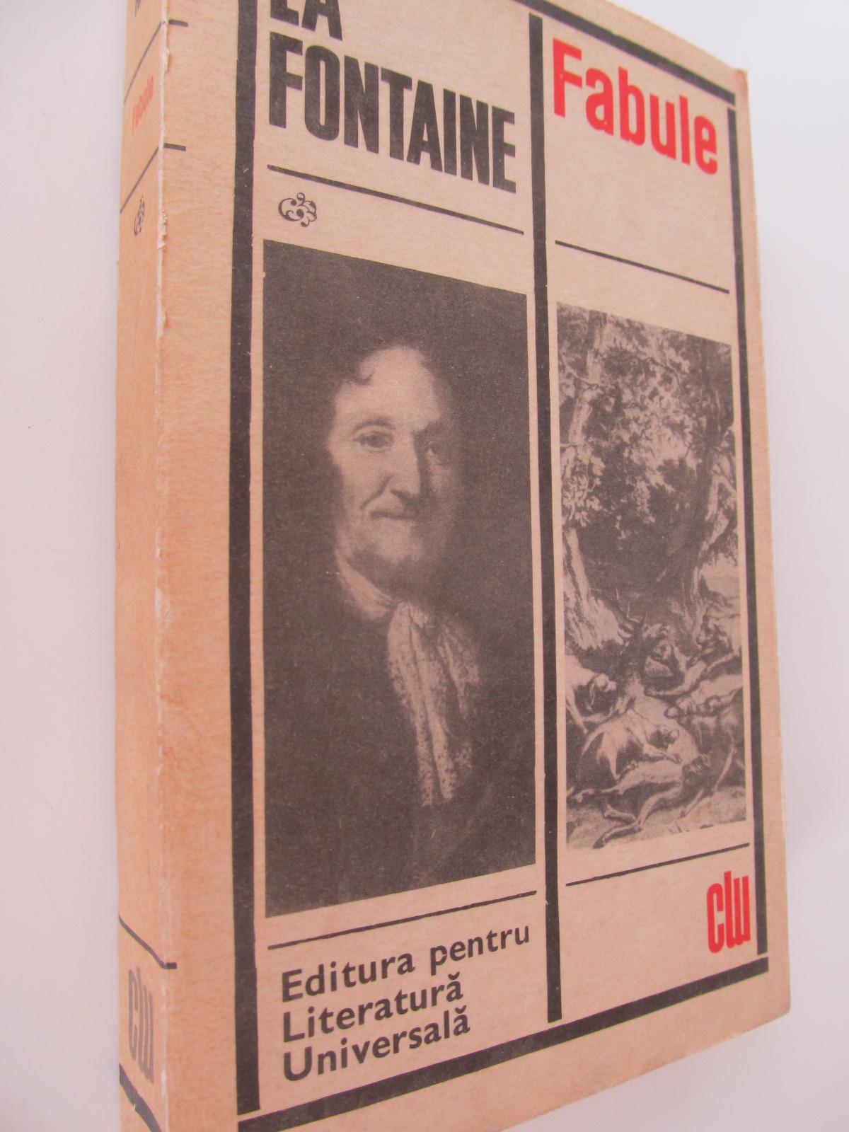 Fabule - La Fontaine   Detalii carte