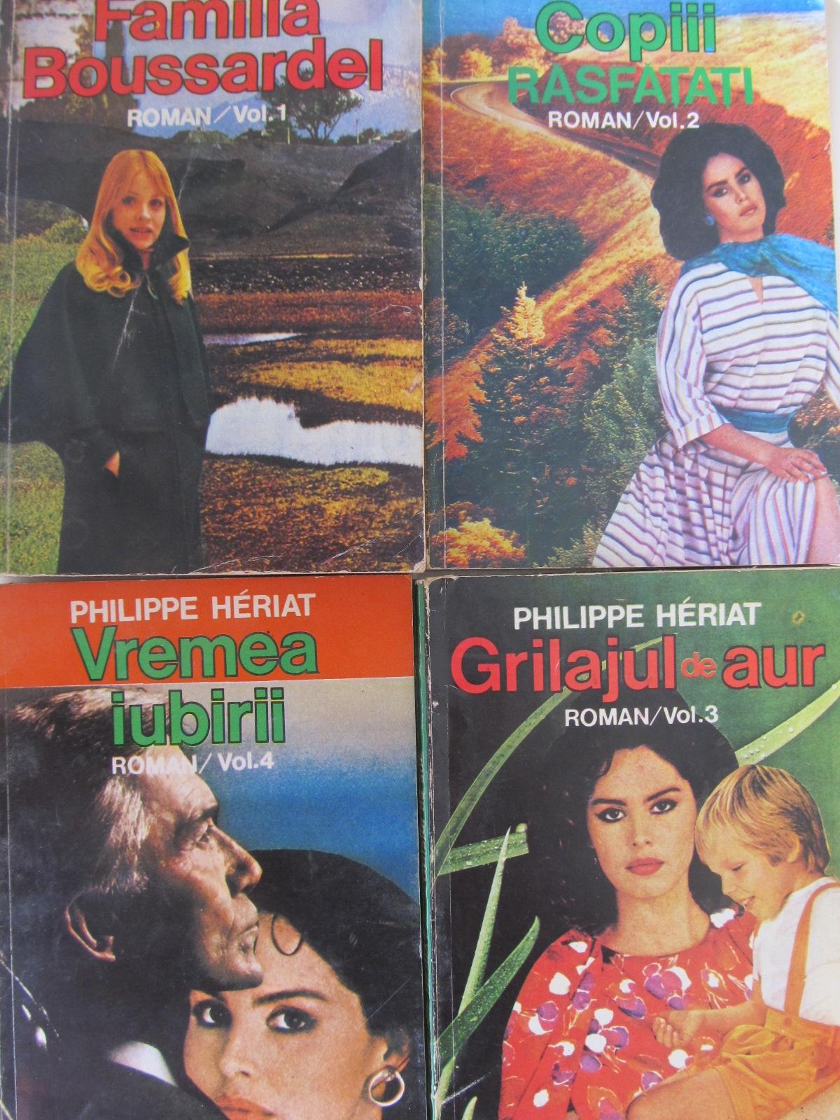 Familia Boussardel (4 vol.) - Philippe Heriat | Detalii carte