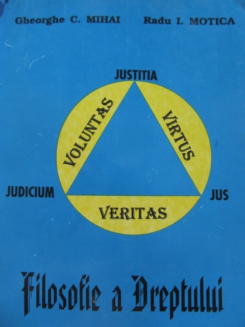 Filosofie a Dreptului - Gheorghe C. Mihai , Radu I. Motica | Detalii carte