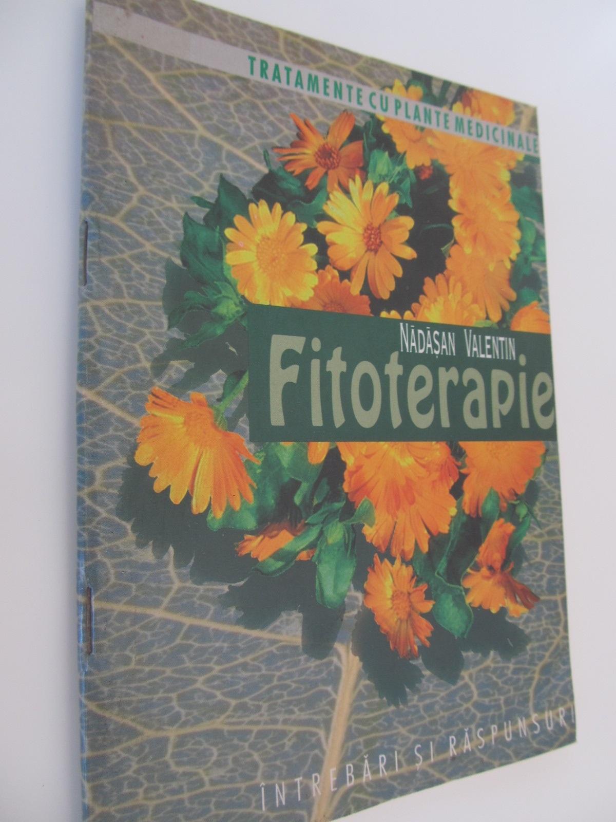 Fitoterapie - Nadasan Valentin | Detalii carte