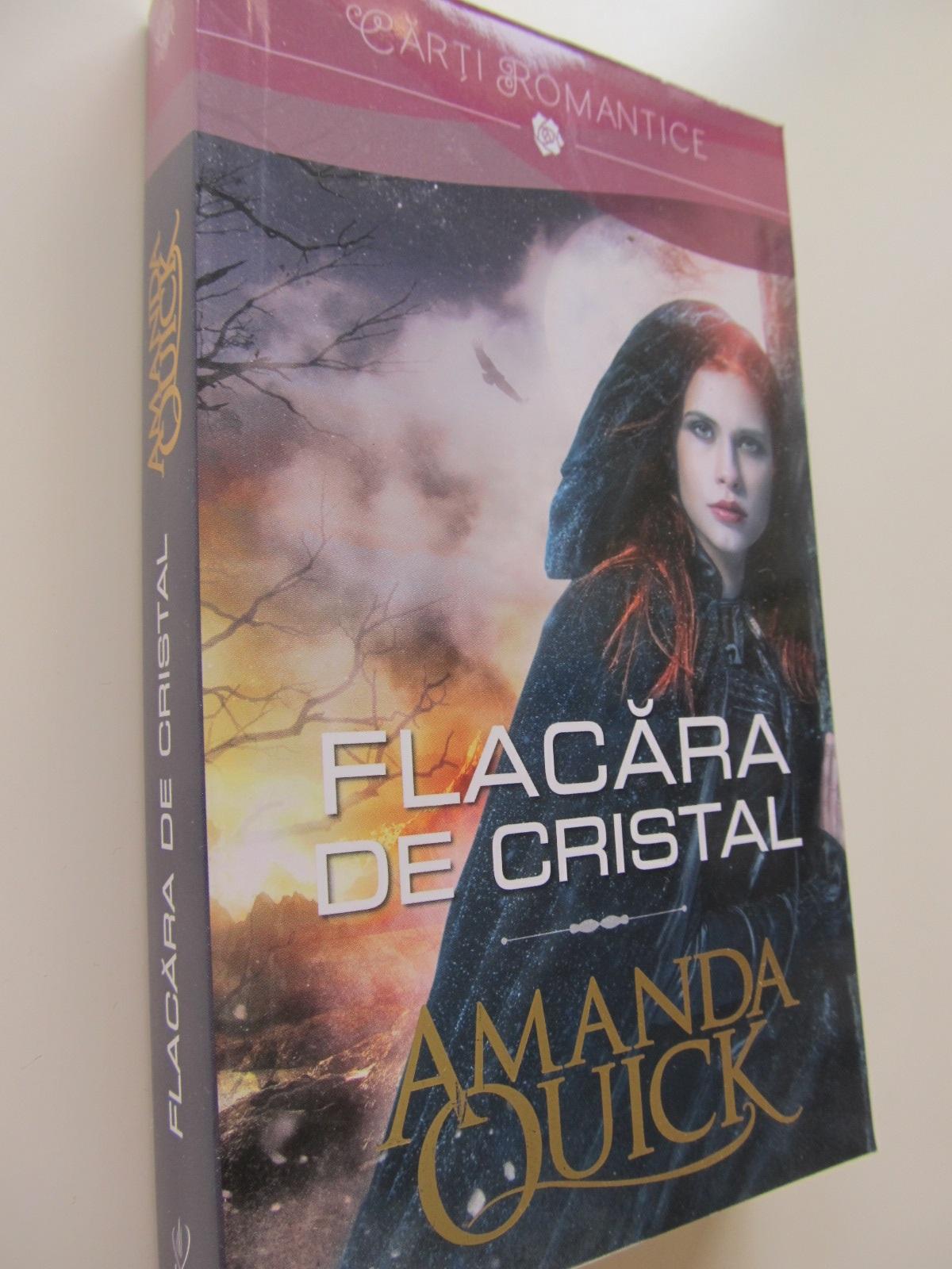 Flacara de cristal - Amanda Quick | Detalii carte