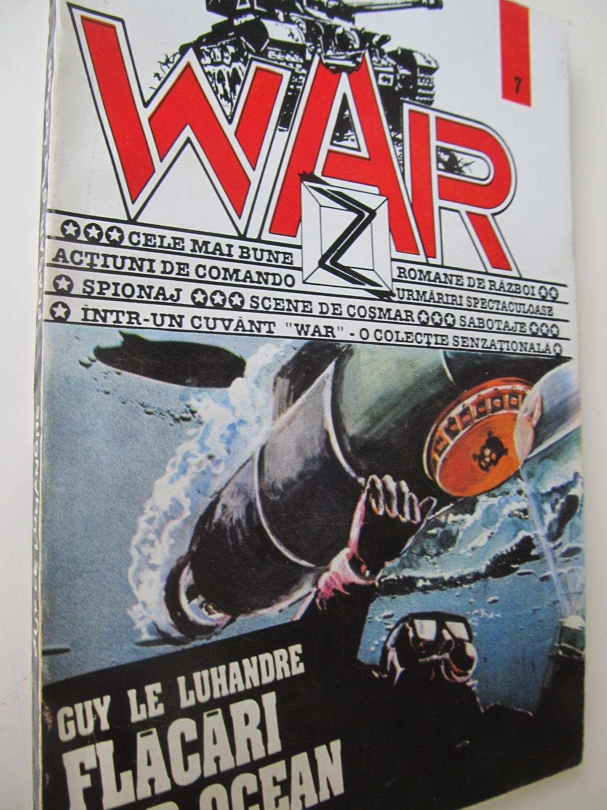 Flacari sub ocean - Guy Le Luhandre   Detalii carte