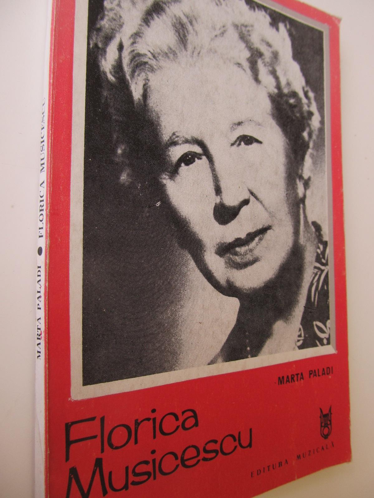 Florica Musicescu - Marta Paladi | Detalii carte