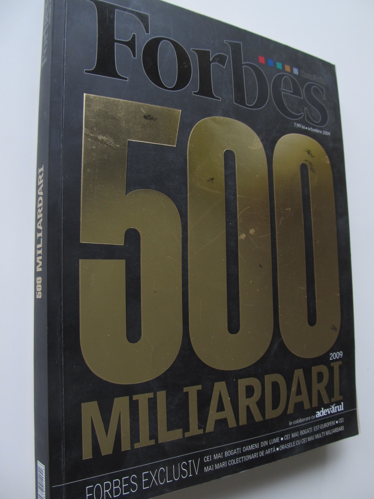 Forbes 500 miliardari - *** | Detalii carte