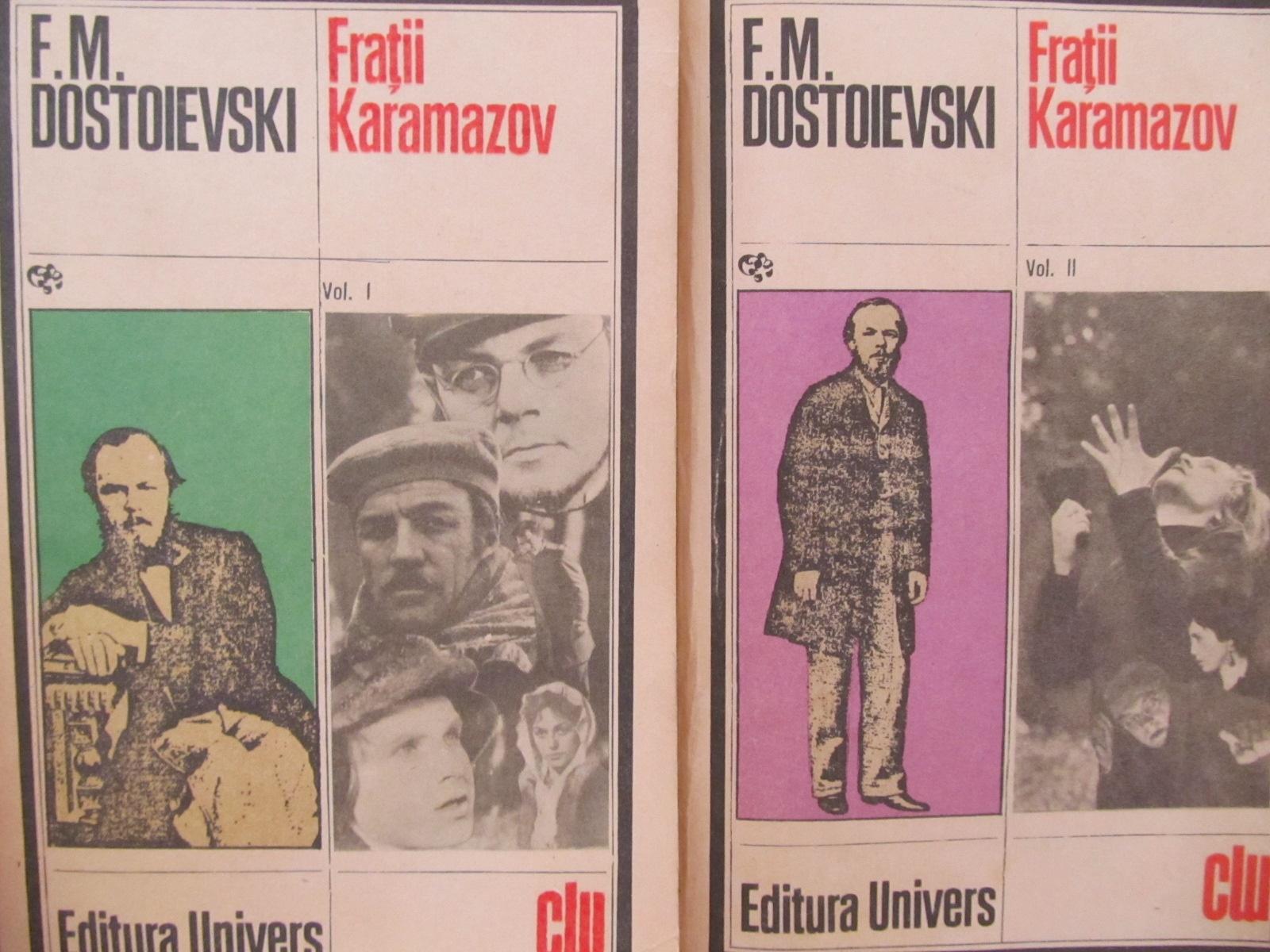 Carte Fratii Karamazov (2 vol.) - F. M. Dostoievski