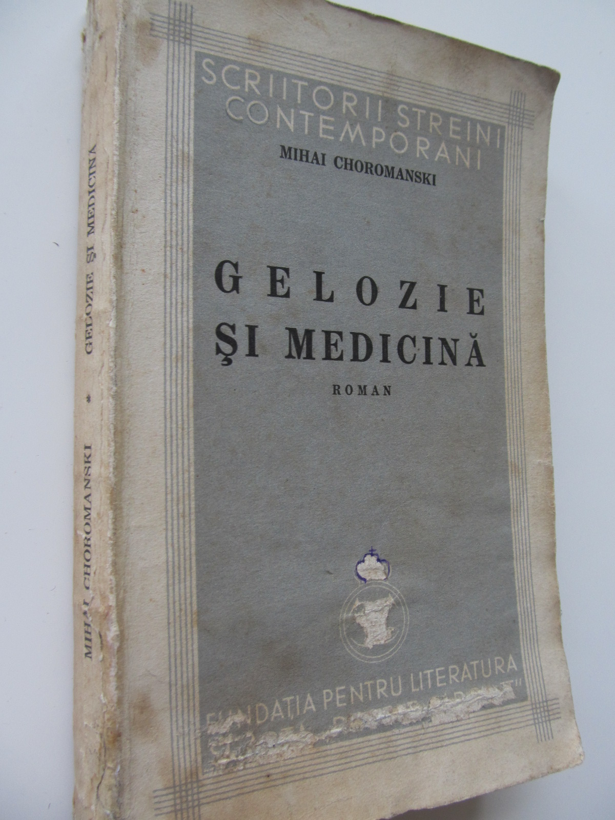 Gelozie si medicina , 1935 - Mihai Choromanski | Detalii carte