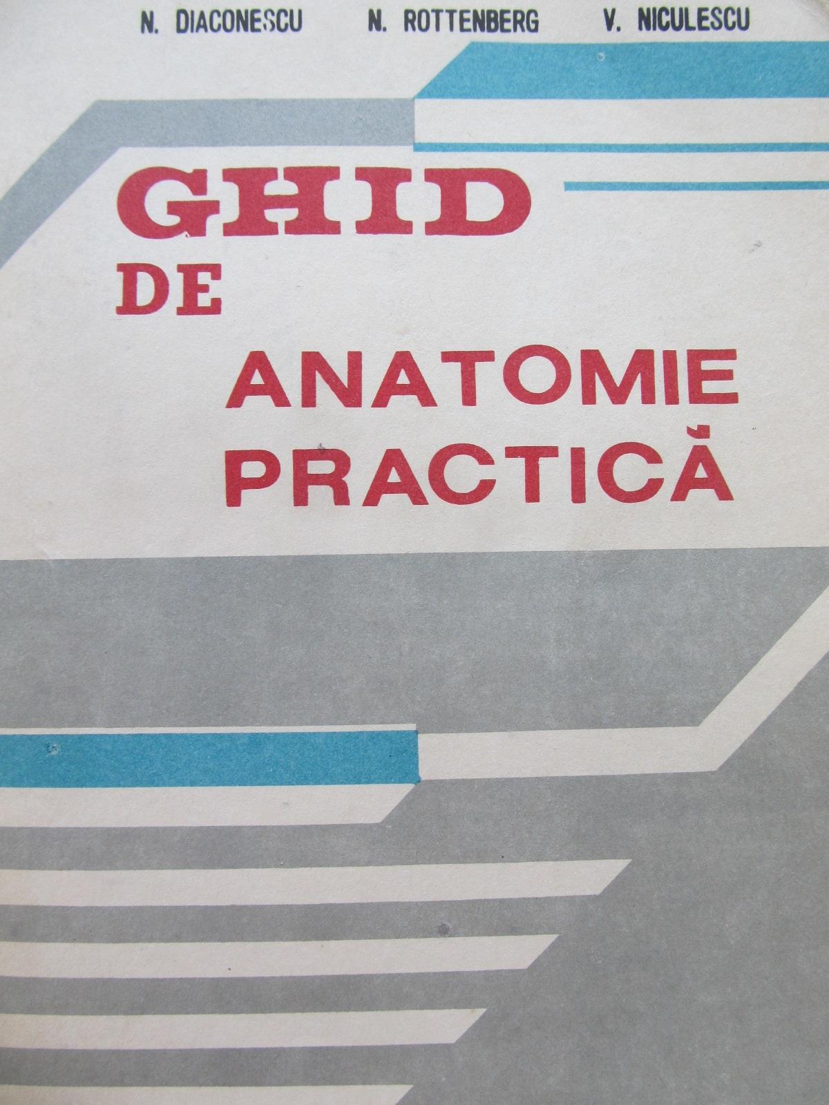 Ghid de anatomie practica - N. Diaconescu , N. Rottenberg , .. | Detalii carte
