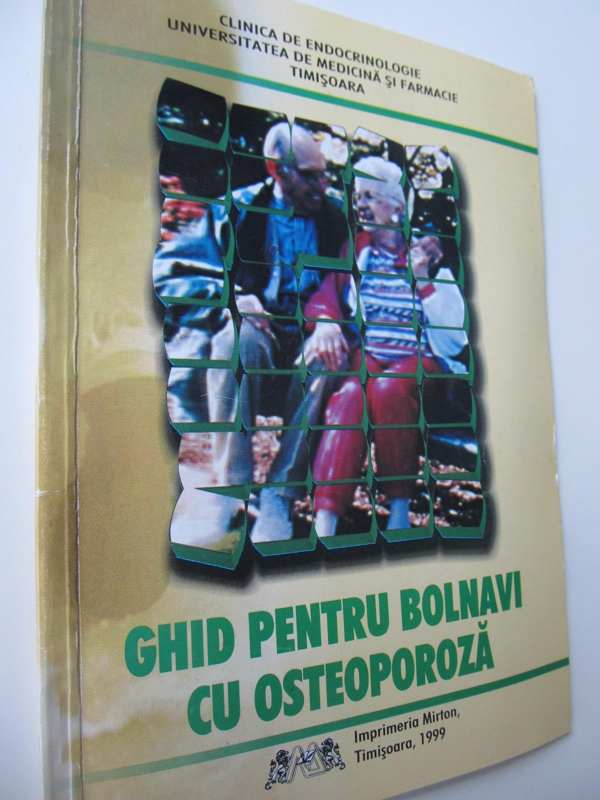Ghid pentru bolnavii de osteoporoza - ***   Detalii carte
