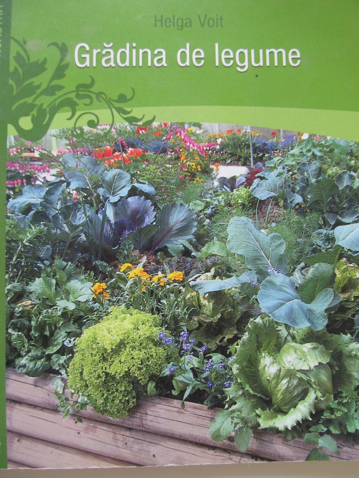 Gradina de legume - Helga Voit | Detalii carte