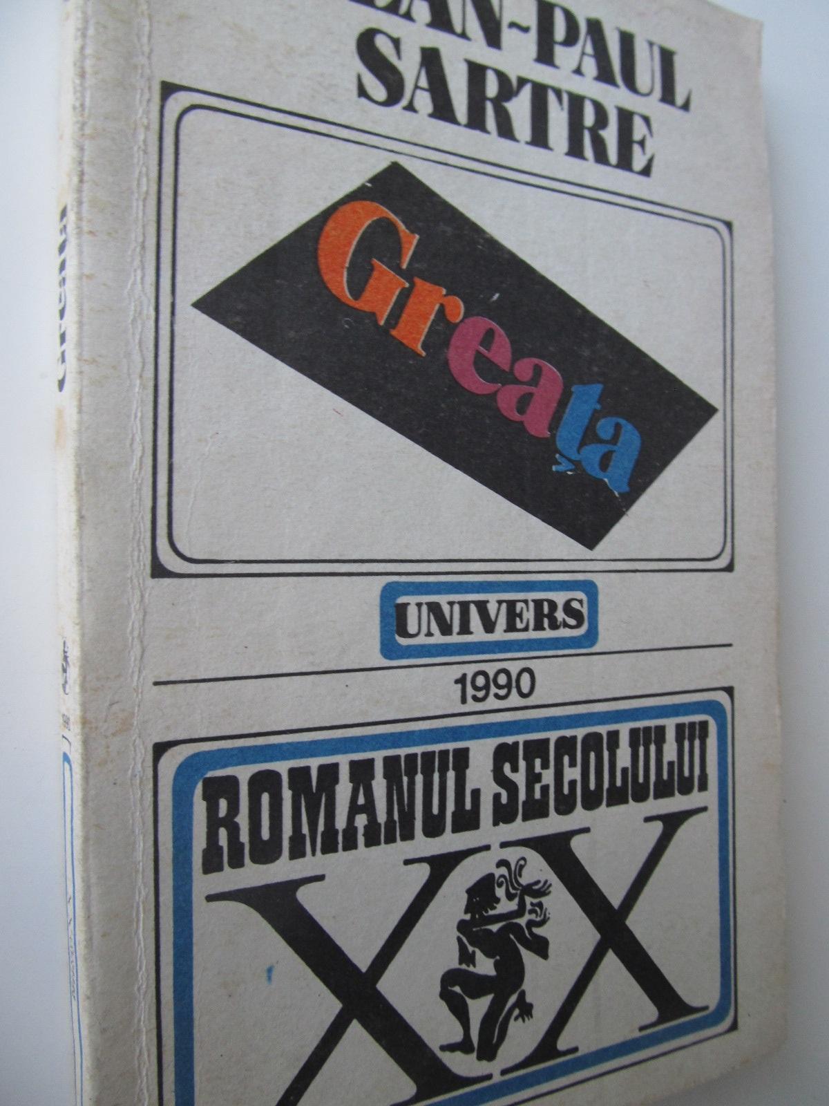 Greata - Jean Paul Sartre | Detalii carte