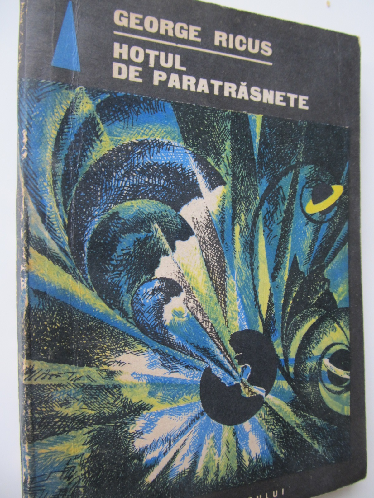 Hotul de paratrasnete - George Ricus | Detalii carte
