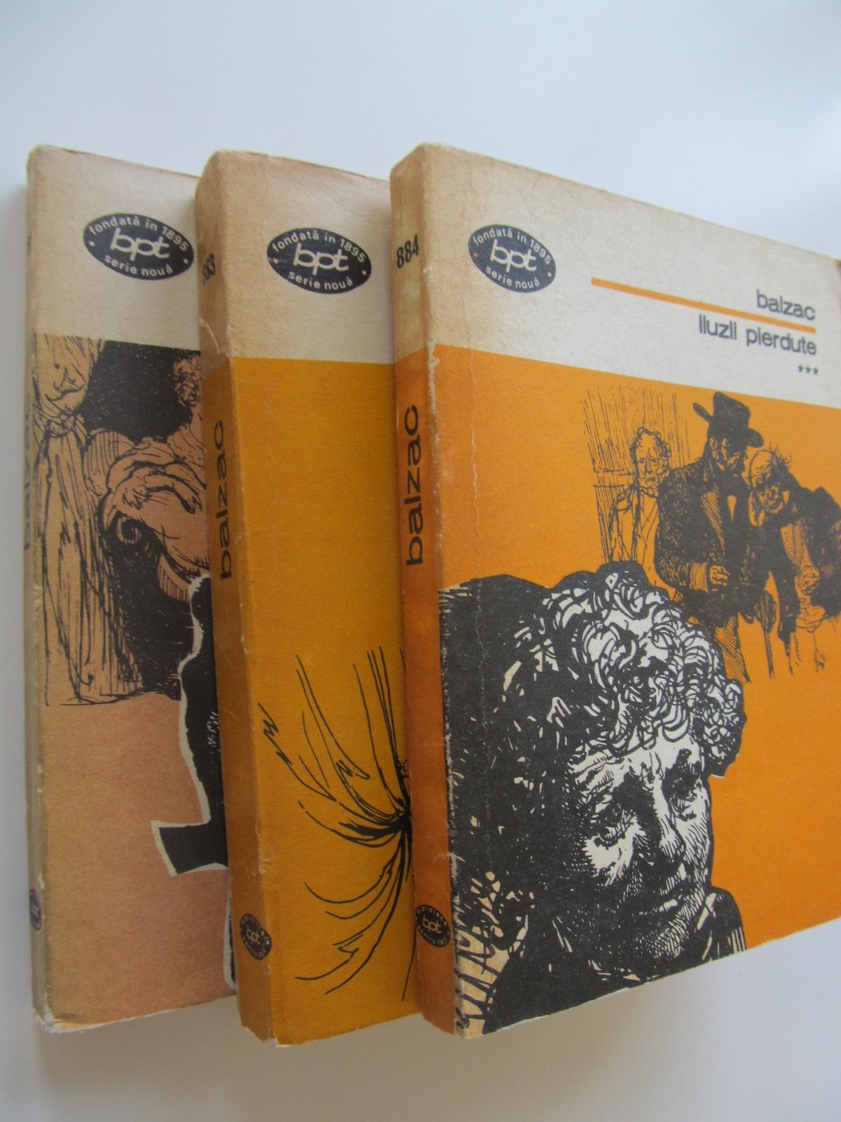 Iluze pierdute (3 vol.) - Honore de Balzac | Detalii carte