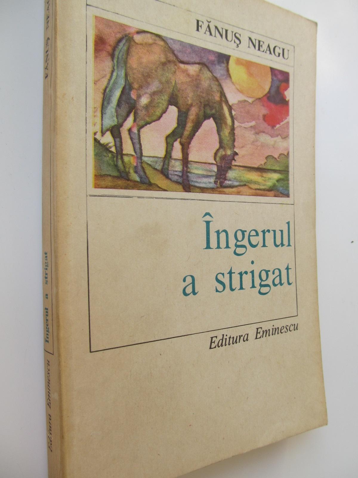 Ingerul a strigat - Fanus Neagu | Detalii carte