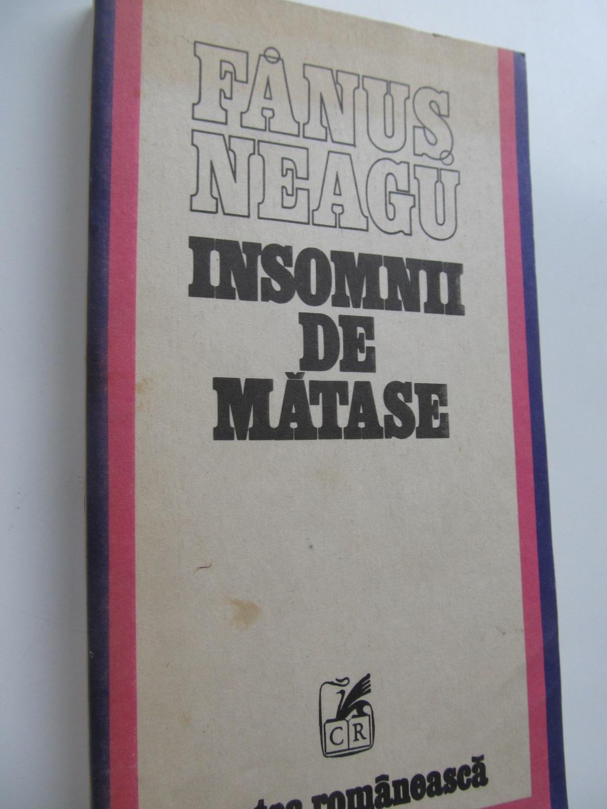 Insomnii de matase - Fanus Neagu | Detalii carte