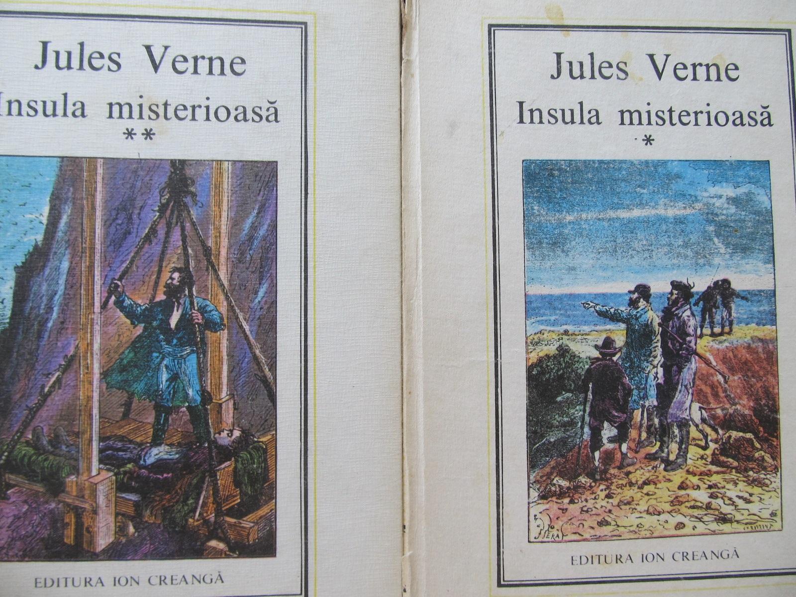 Insula misterioasa (20) (21) (2vol.) - Jules Verne | Detalii carte