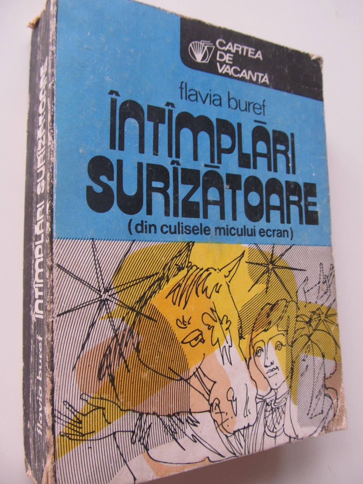 Intamplari surzatoare - din culisele micului ecran - Flavia Buref | Detalii carte