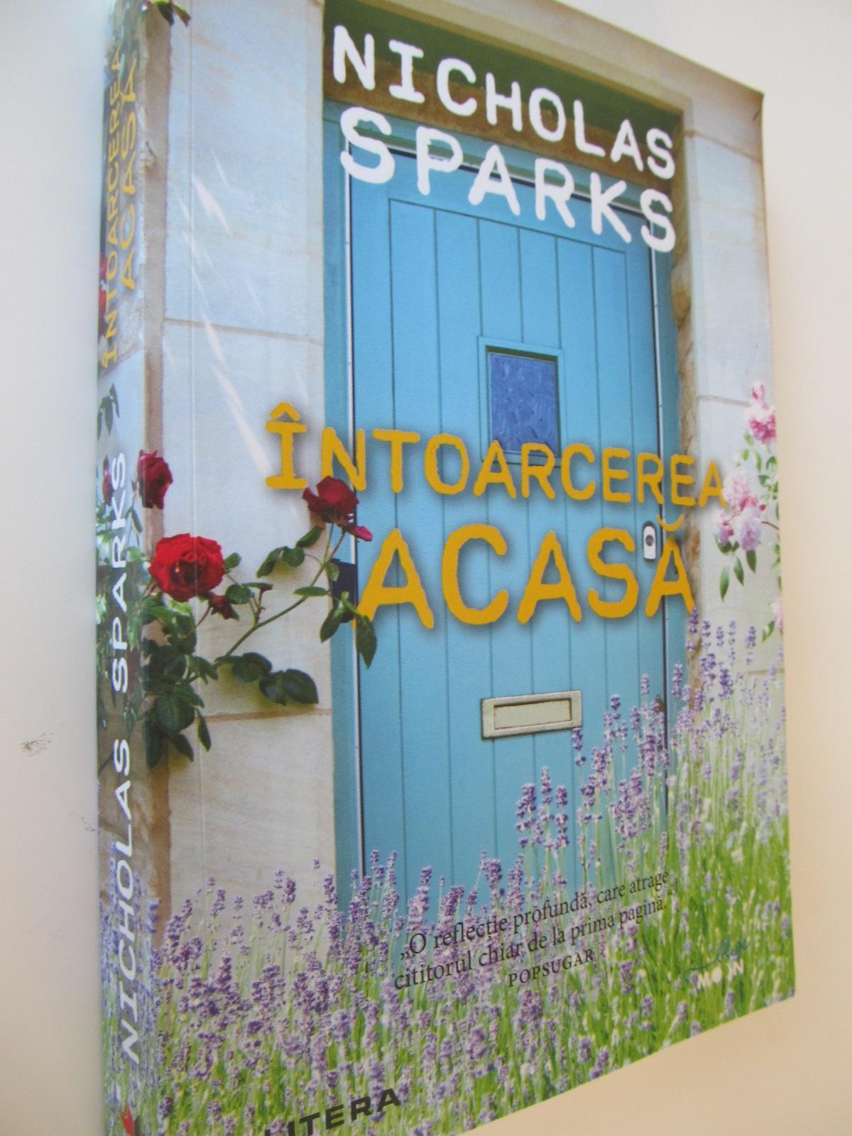 Intoarcerea acasa - Nicholas Sparks | Detalii carte