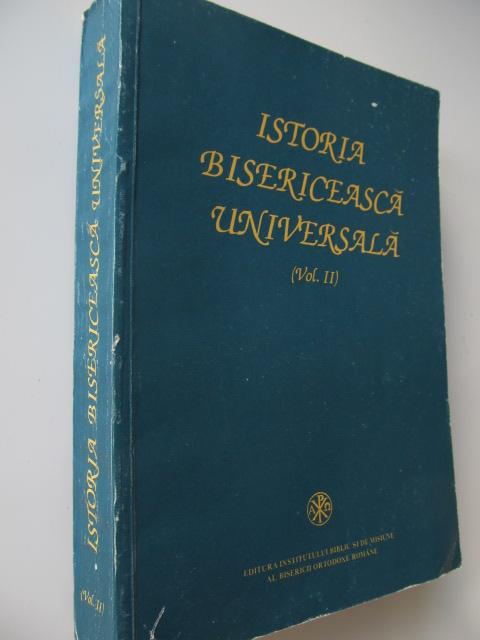 Istoria bisericeasca universala (vol. II) , (1054-1982) - pentru institute teologice - Ioan Ramureanu , Milan Sesan , Teodor Bodogae | Detalii carte