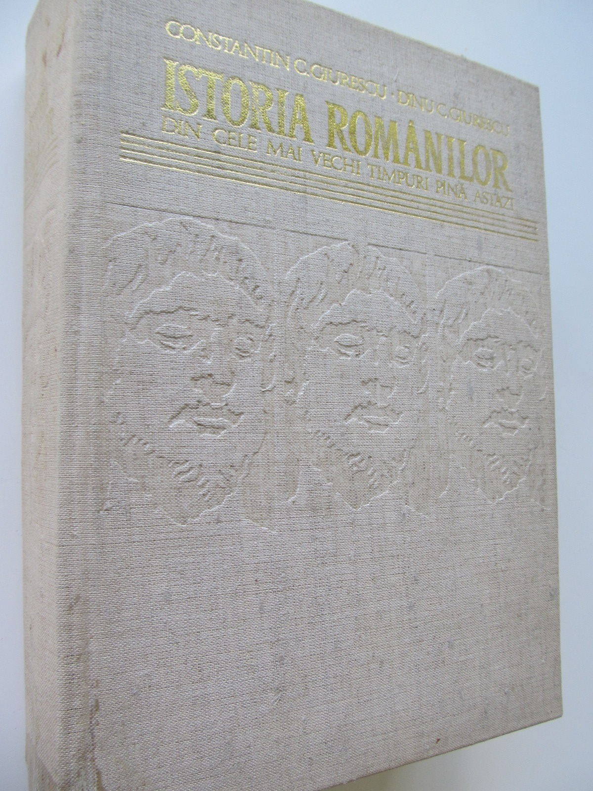 Istoria romanilor din cele mai vechi timpuri pana astazi - Constantin Giurescu , Dinu Giurescu | Detalii carte