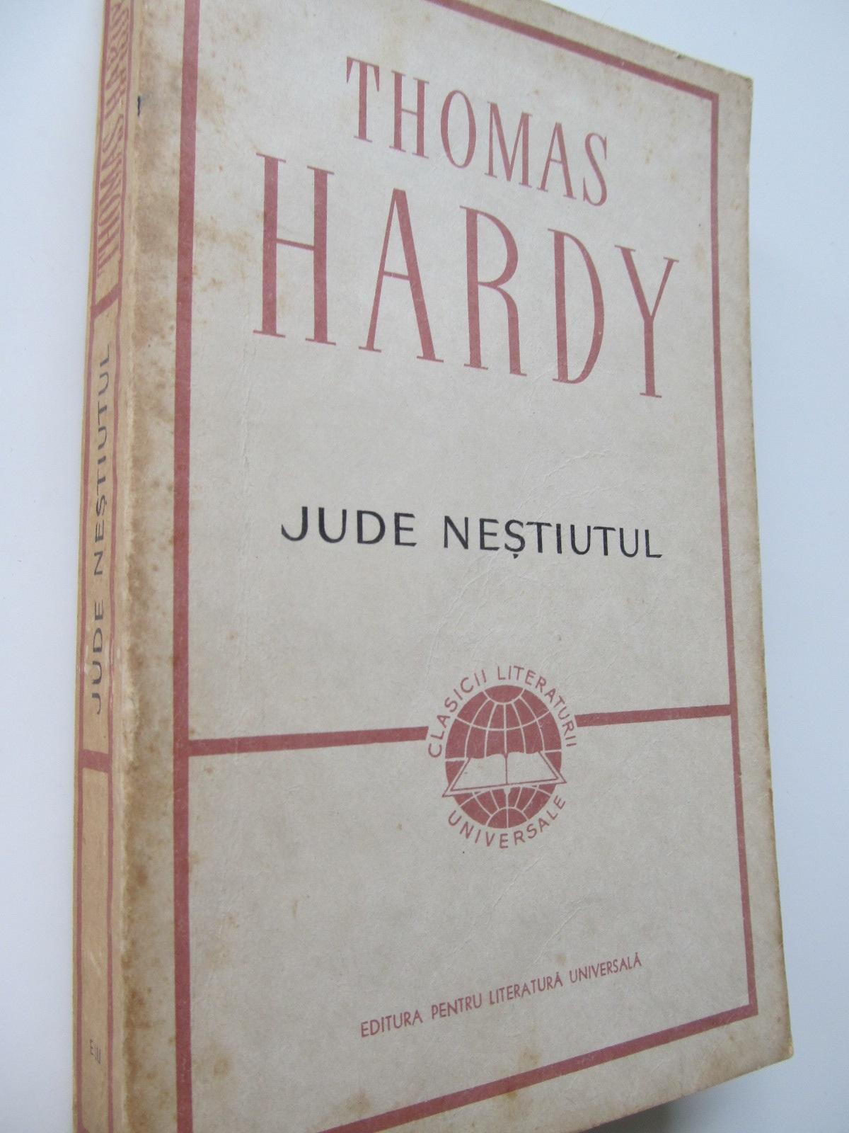 Carte Jude Nestiutul - Thomas Hardy