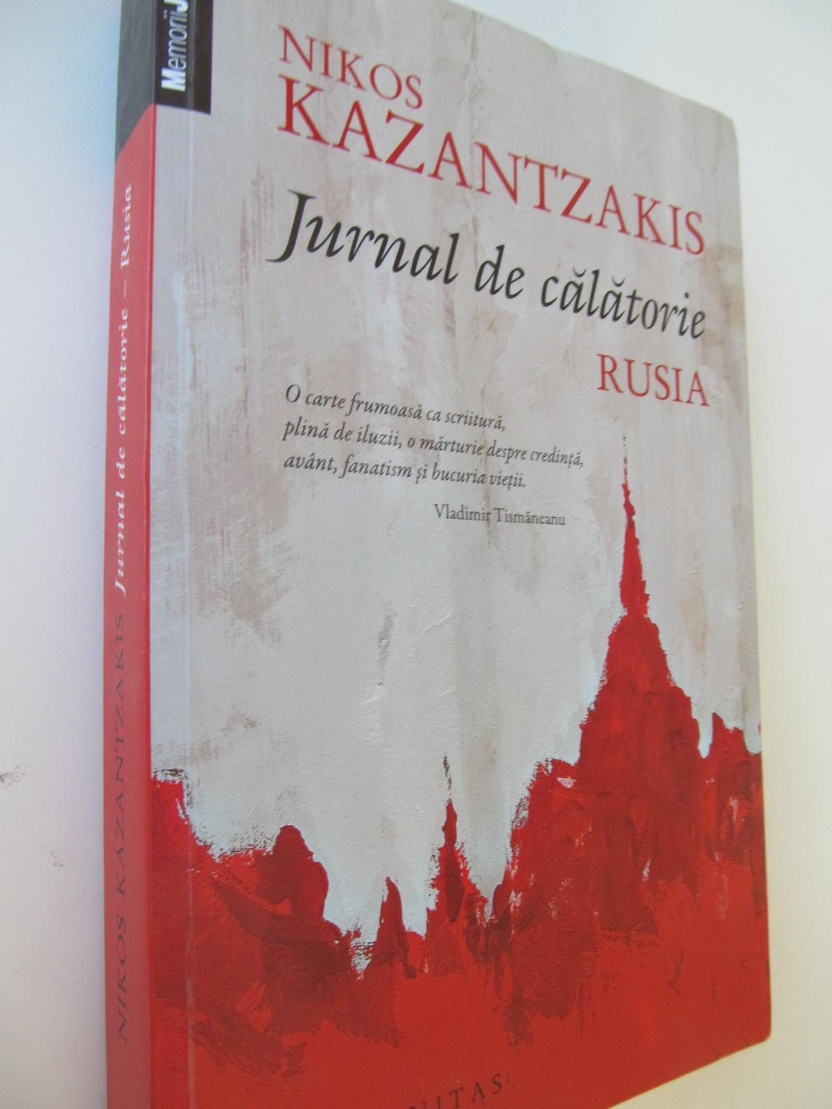 Jurnal de calatorie - Nikos Kazantzakis   Detalii carte