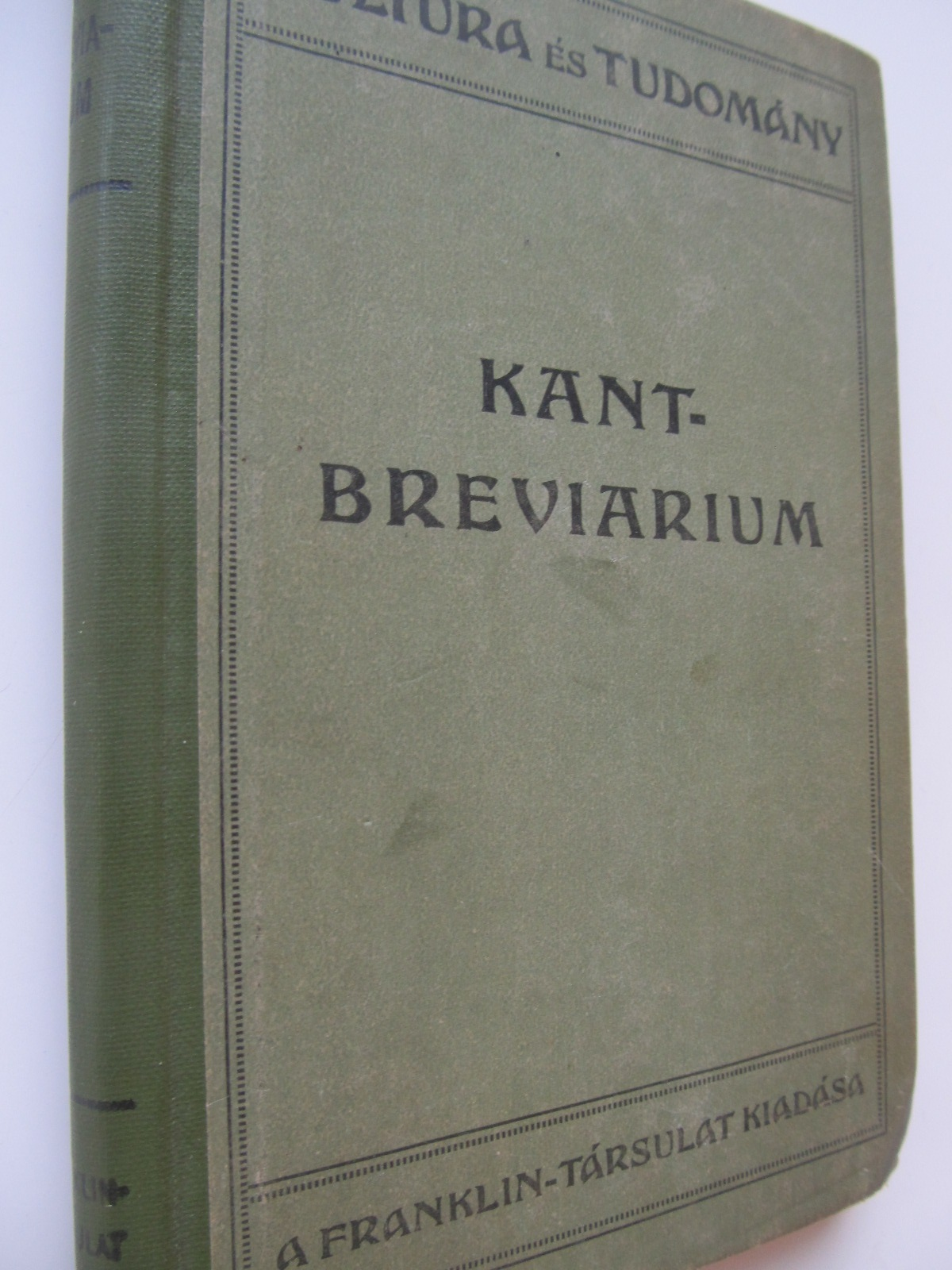 Kant breviarium , 1917 - osszeallitotta Gross Felix | Detalii carte