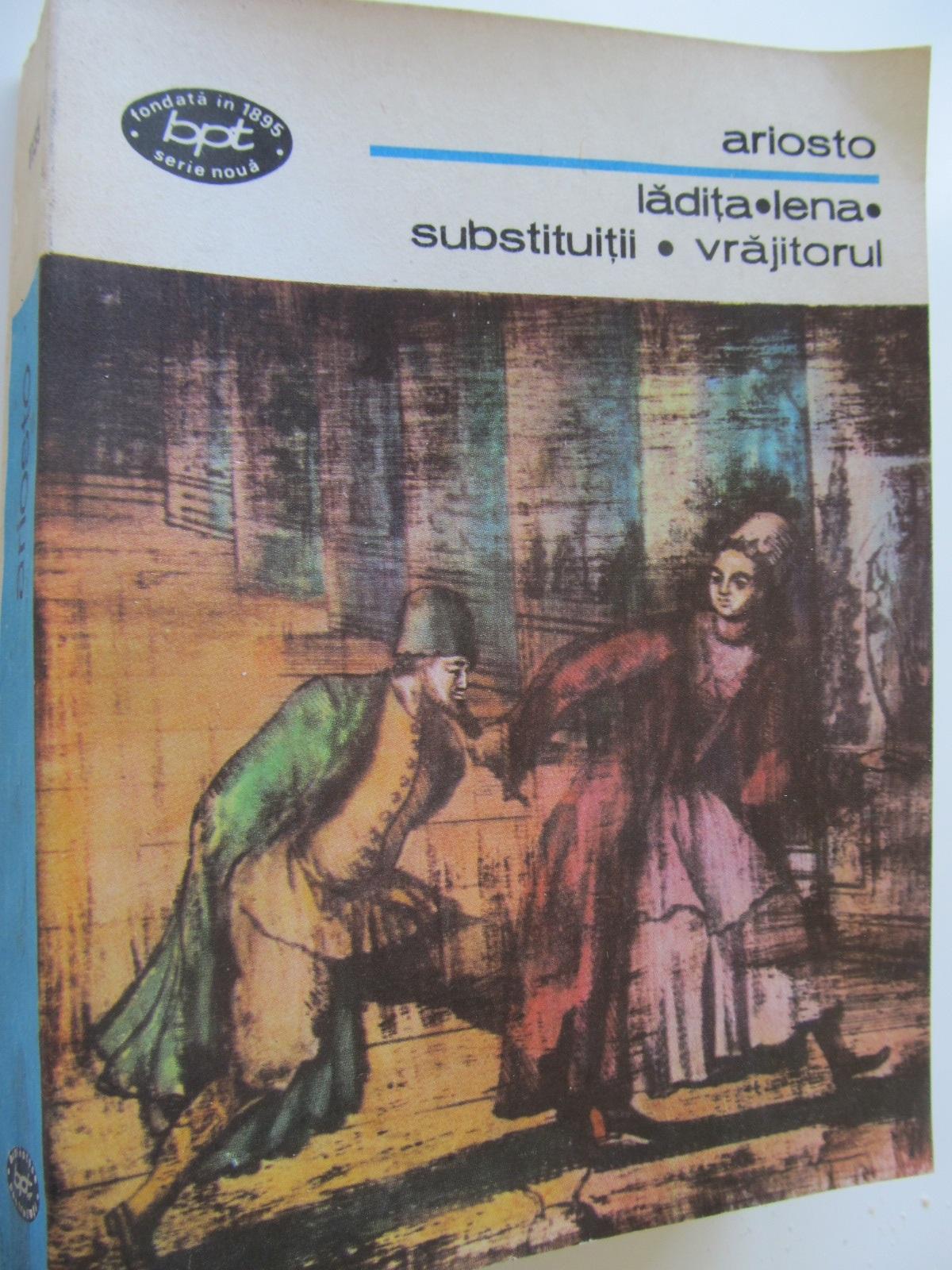 Ladita - Lena - Substituitii - Vrajitorul - Ariosto | Detalii carte