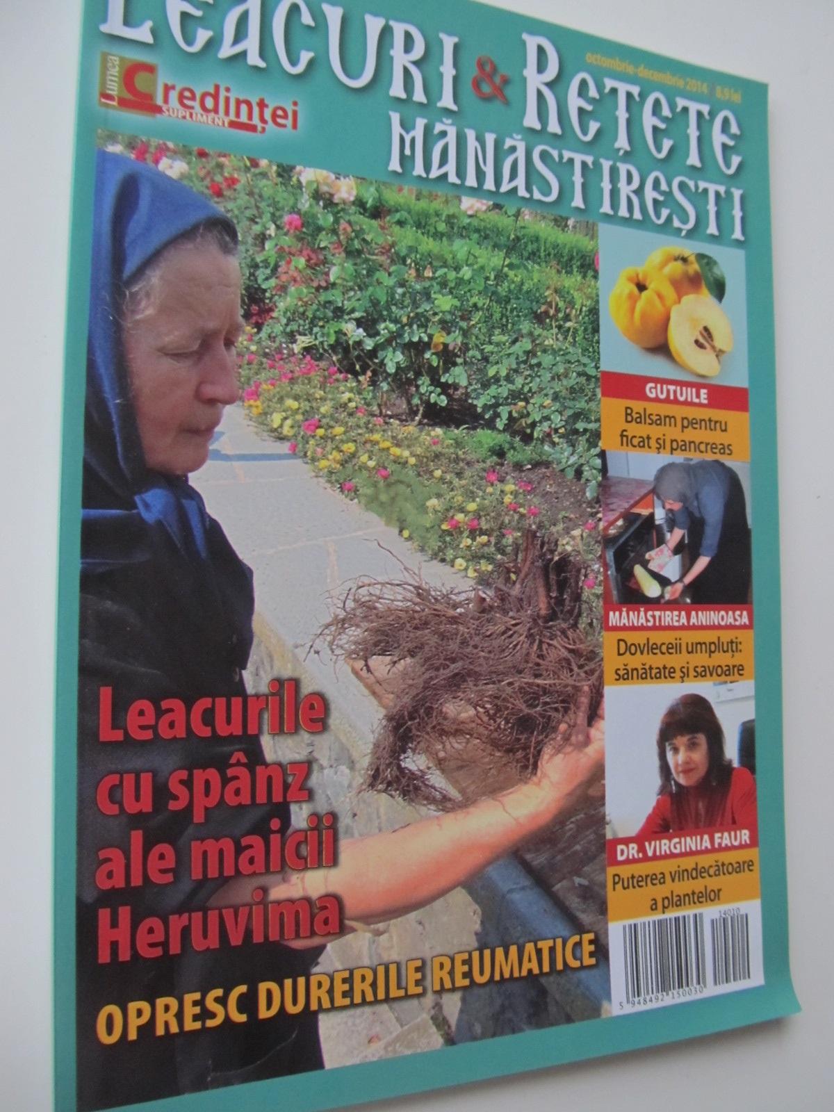 Leacuri si retete manastiresti - *** | Detalii carte