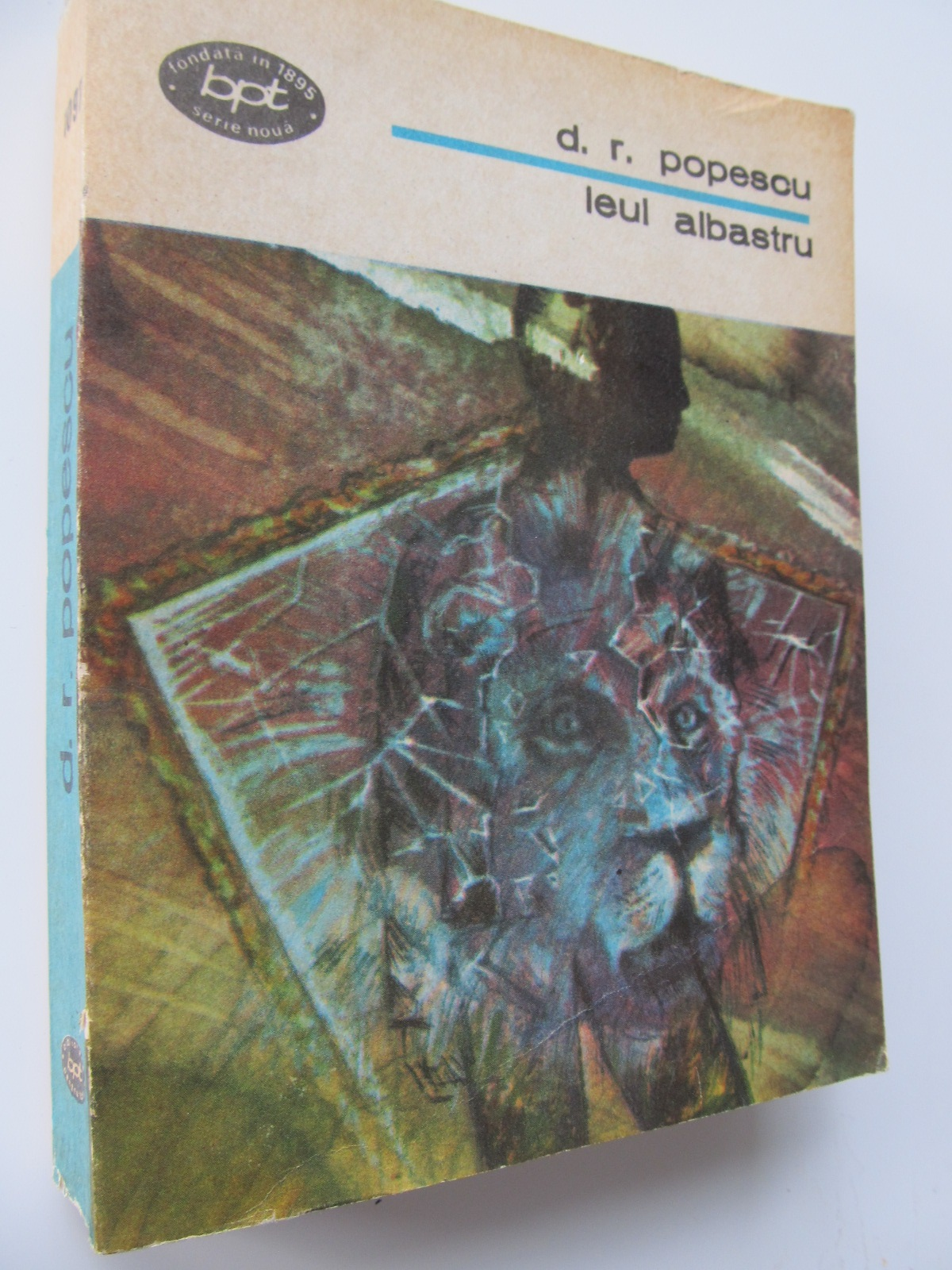 Carte Leul albastru - D. R. Popescu