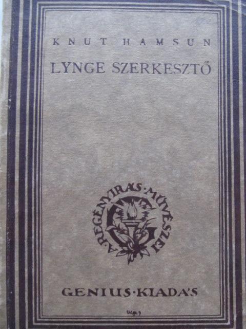 Lynge szerkeszto - Knut Hamsun | Detalii carte