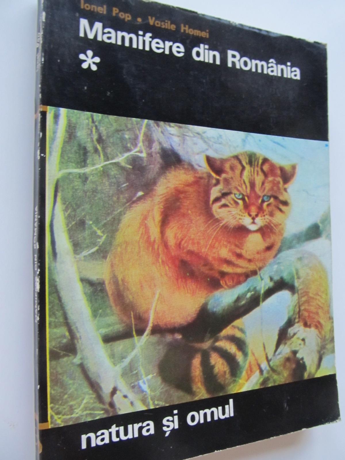 Mamifere din Romania (vol. 1) - Ionel Pop , Vasile Homei | Detalii carte
