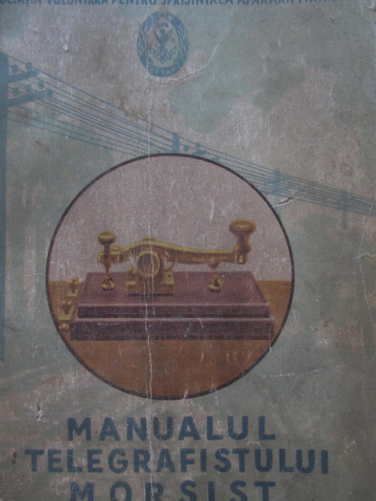 Carte Manualul telegrafistului morsist - ***