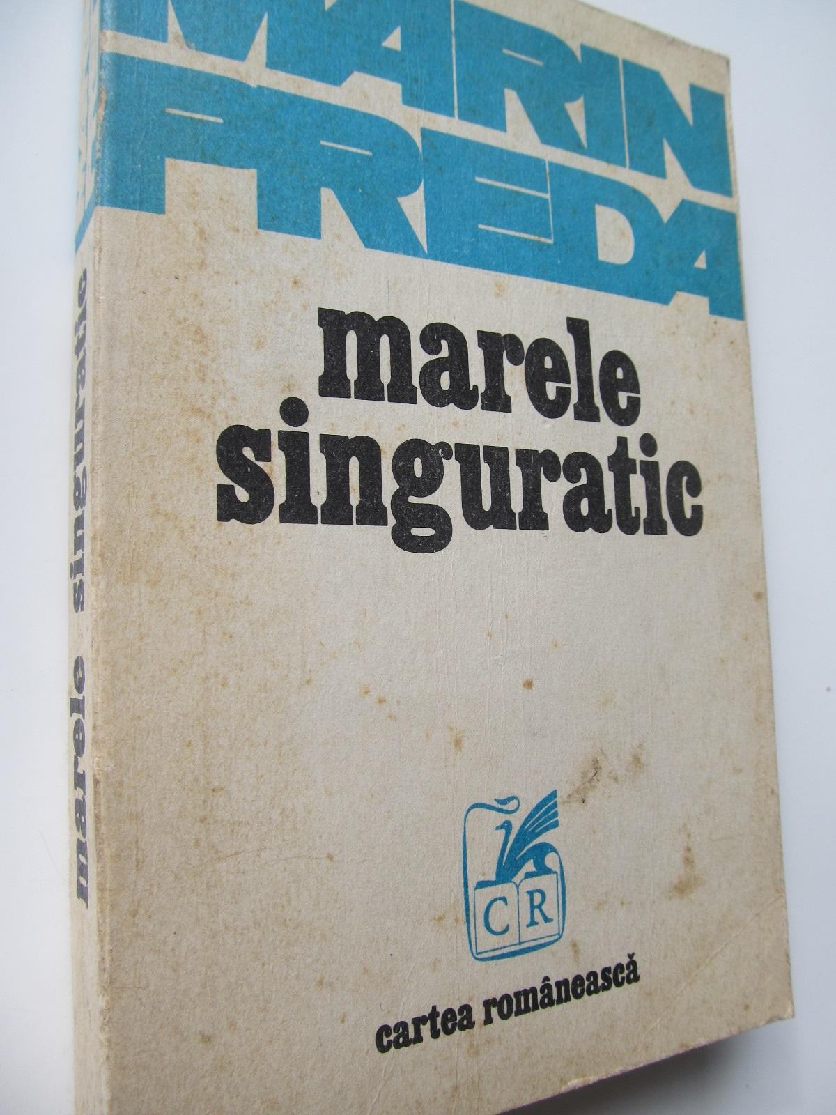 Marele singuratic - Marin Preda | Detalii carte