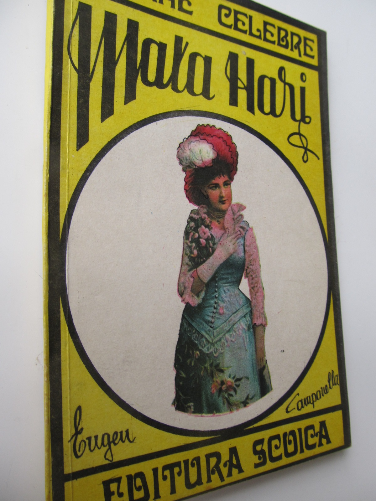 Mata Hari - Eugen Campanella | Detalii carte