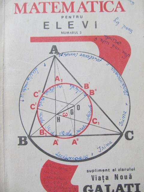 Carte Matematica pentu elevi Nr.3 - ***
