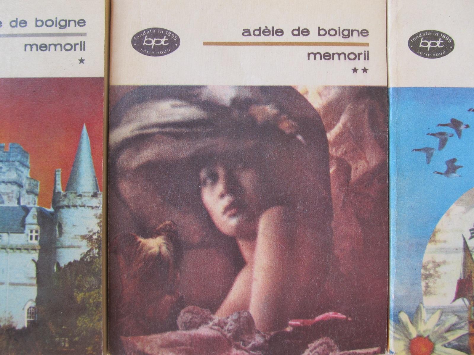 Memorii (3vol.) - Adele de Boigne | Detalii carte