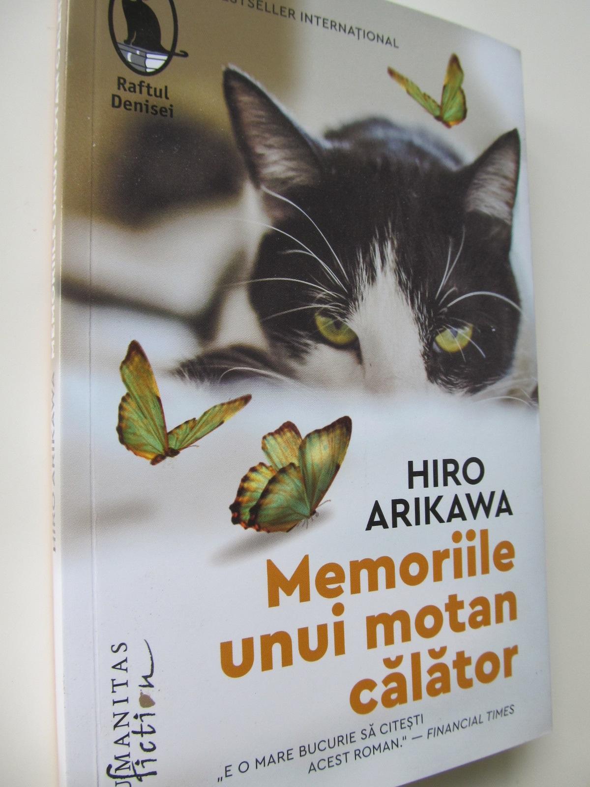 Memoriile unui motan calator - Hiro Arikawa | Detalii carte