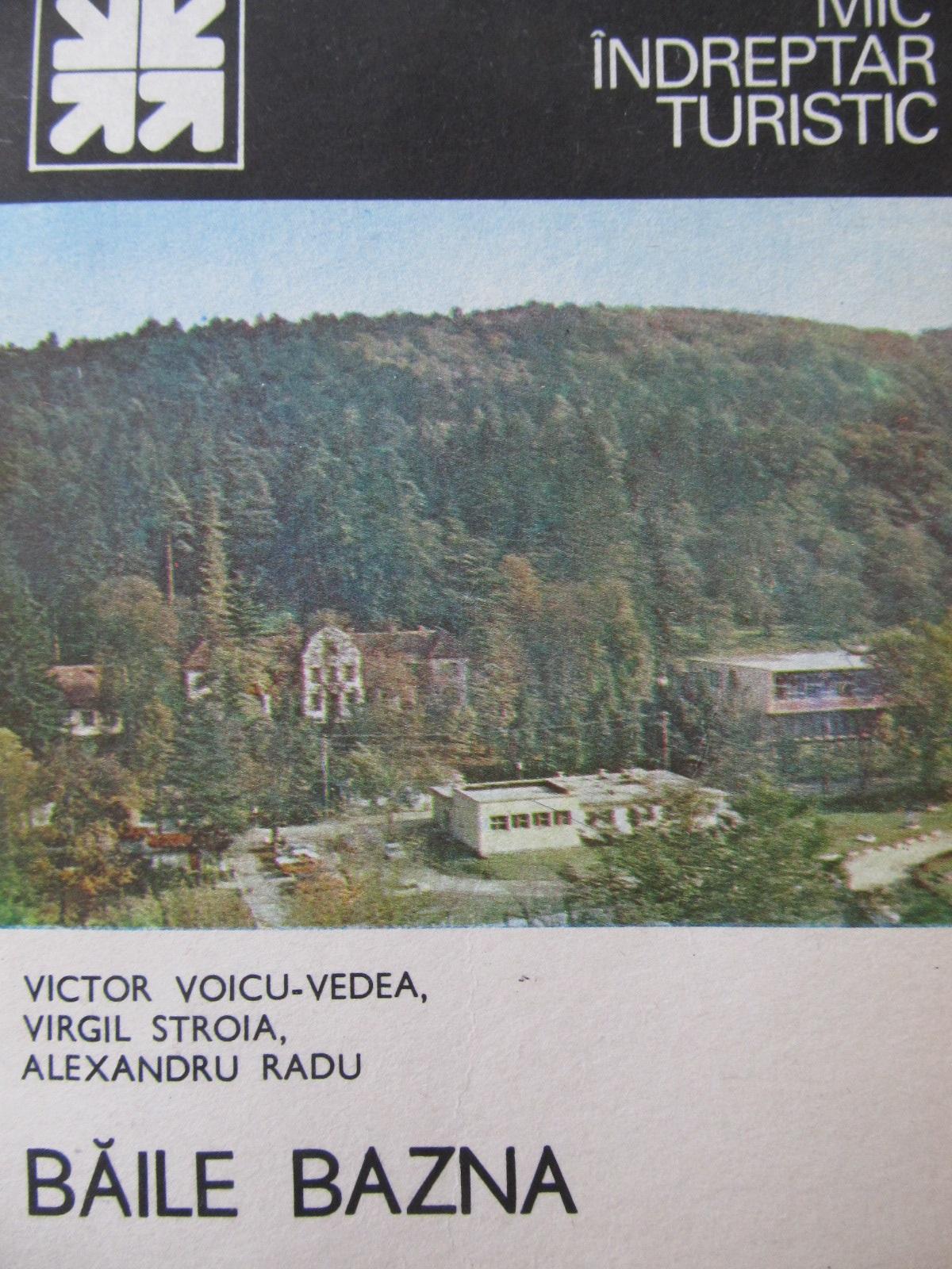 Mic indreptar turistic Baile Bazna (cu harta) - Victor Voicu Vedea , ... | Detalii carte