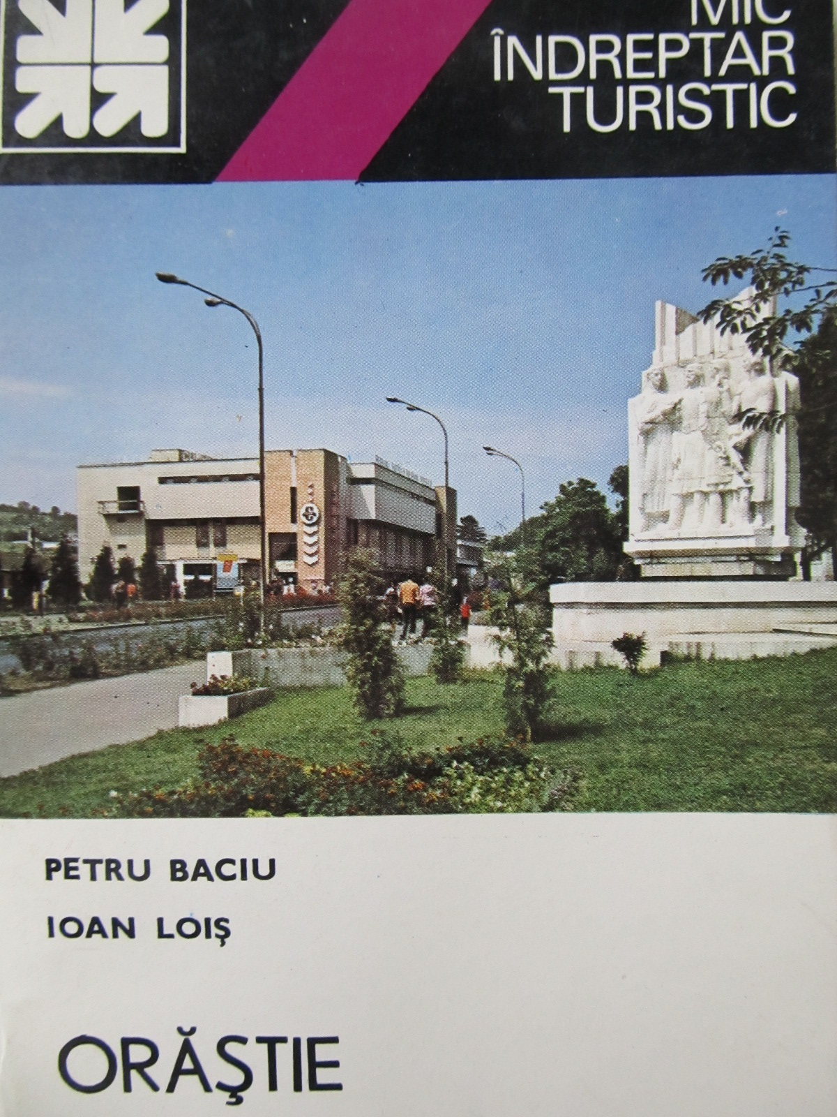 Carte Mic indreptar turistic Orastie (cu harta) - Petru Baciu , ...