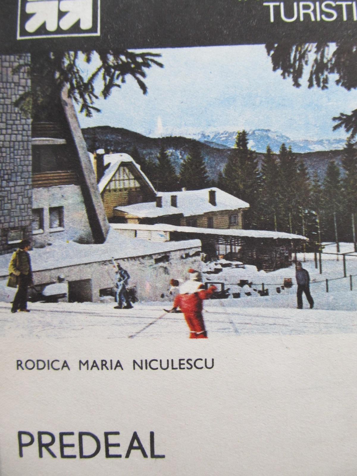 Mic indreptar turistic Predeal (cu harta) - Rodica Maria Niculescu | Detalii carte
