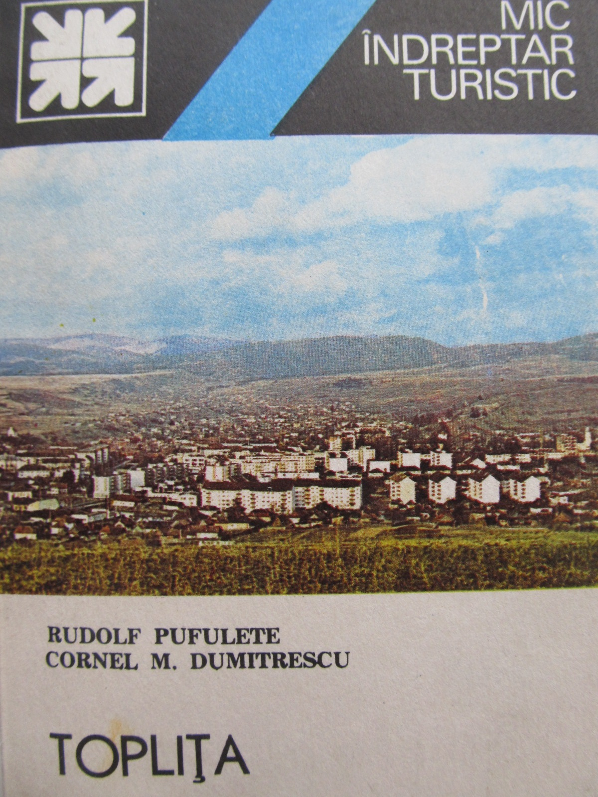 Mic indreptar turistic Toplita (cu harta) - Rudolf Pufulete , Cornel M. Dumitrescu | Detalii carte