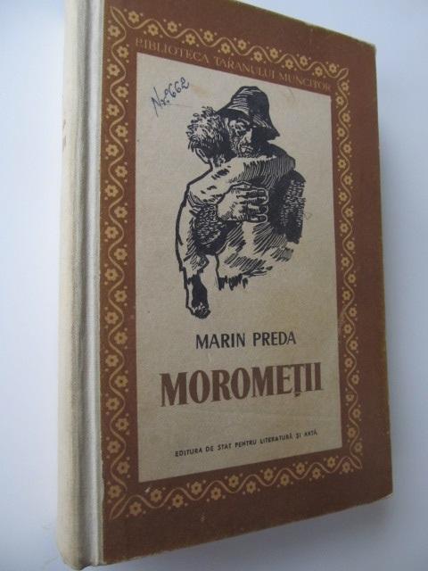 Morometii , 1957 - coperta ilustr. Perahim ( editia II-a) - Marin Preda | Detalii carte
