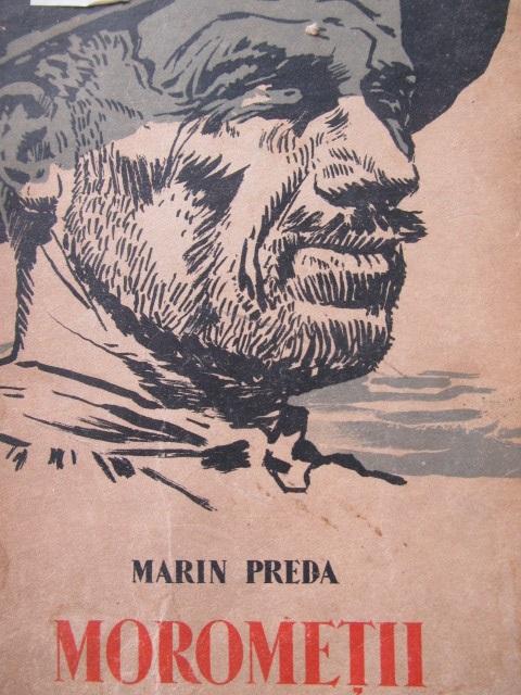 Morometii , 1961 - coperta ilustr. Perahim - Marin Preda | Detalii carte