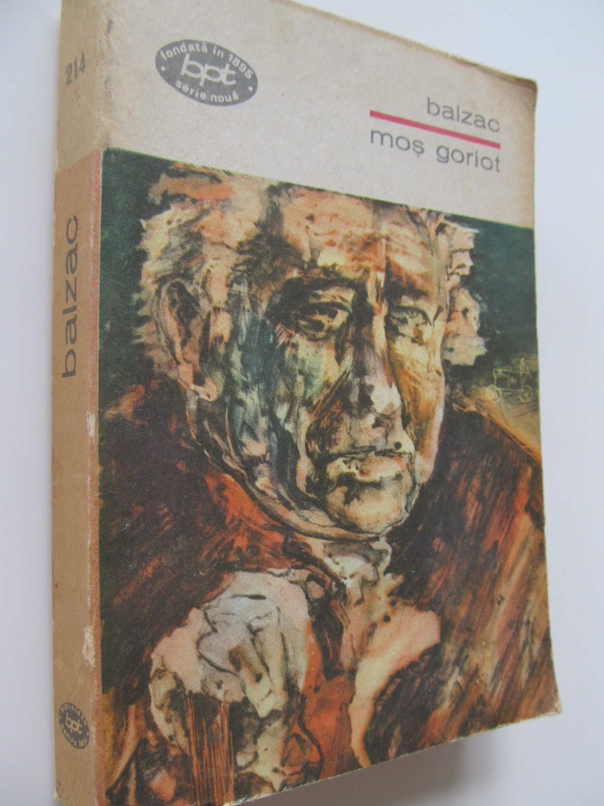 Carte Mos Goriot - Balzac